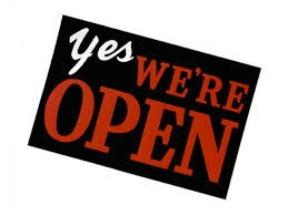 We are open during Xmas