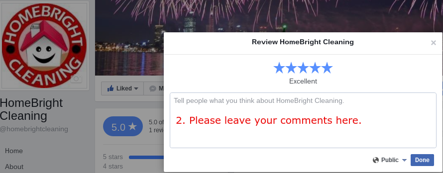 review us on facebook step2